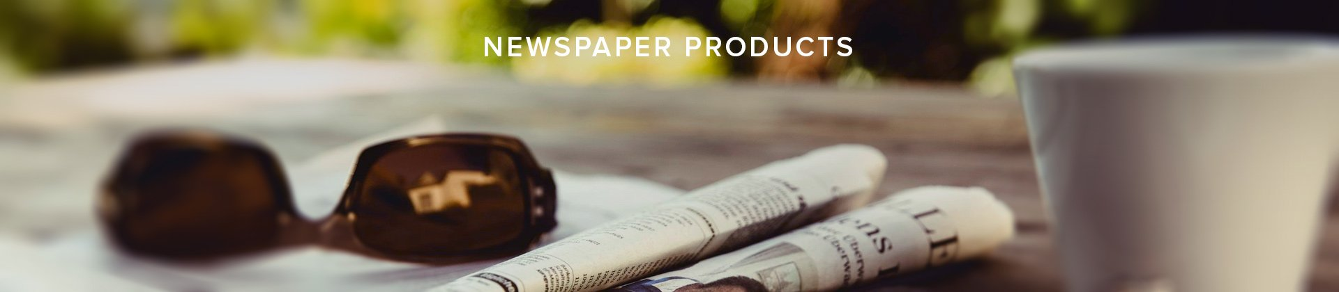 Newspaper Product Banner