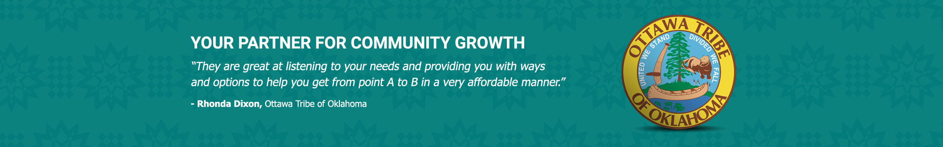 Your Partner For Community Growth