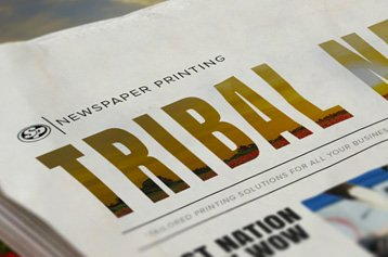 Tribal Newspaper Printing
