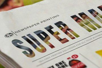 Supermarket Insert Printing