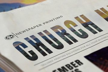 Church Newspaper Printing