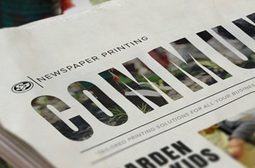 Community Newspaper Printing
