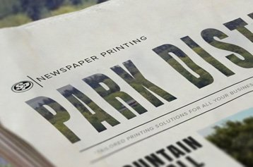 Park District Newspaper Printing