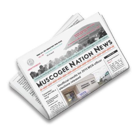 Stitch and Trim Newspaper