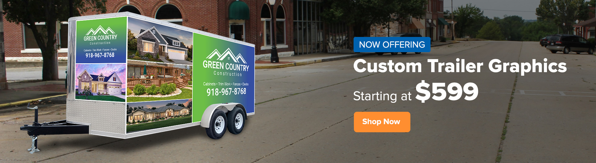 New product Trailer Graphics