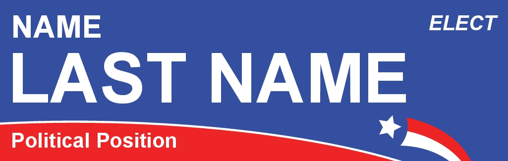 Size 10 x 3 bumper sticker card name pcs001 10x3