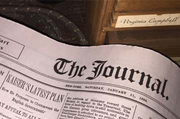 Movie Prop Newspaper