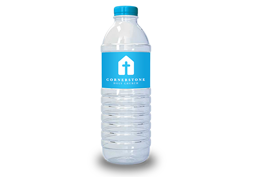 Church Water Bottle Stickers