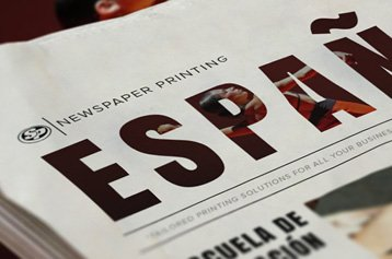 Spanish Newspaper Printing