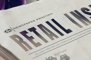 Retail Insert Printing