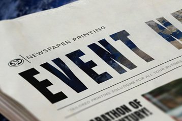 Event Newspaper Printing