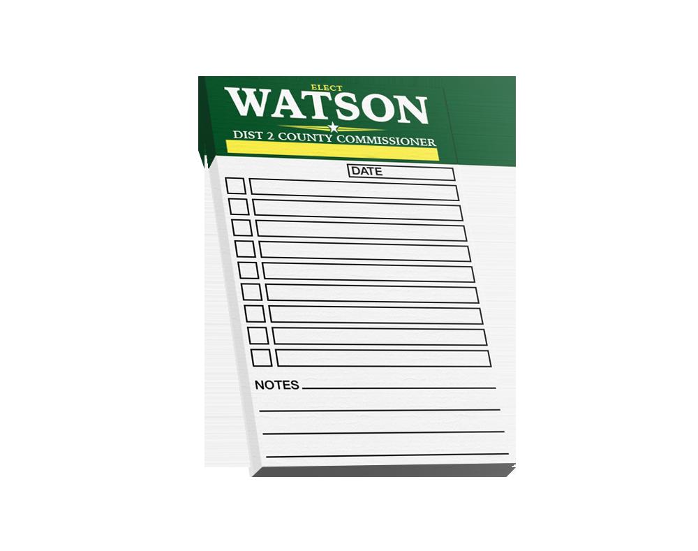 Political Notepads