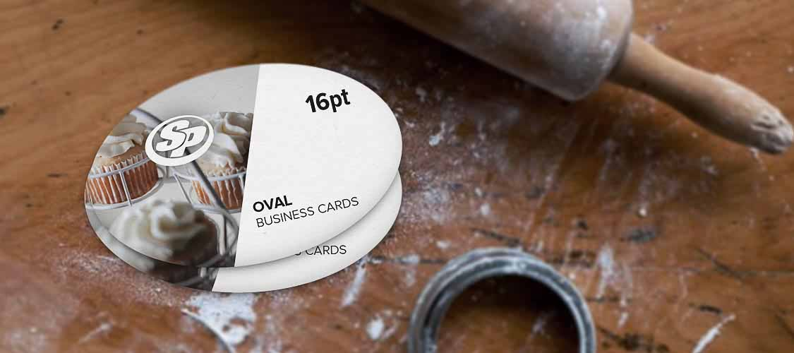 Oval business cards stigler printing colourmoves