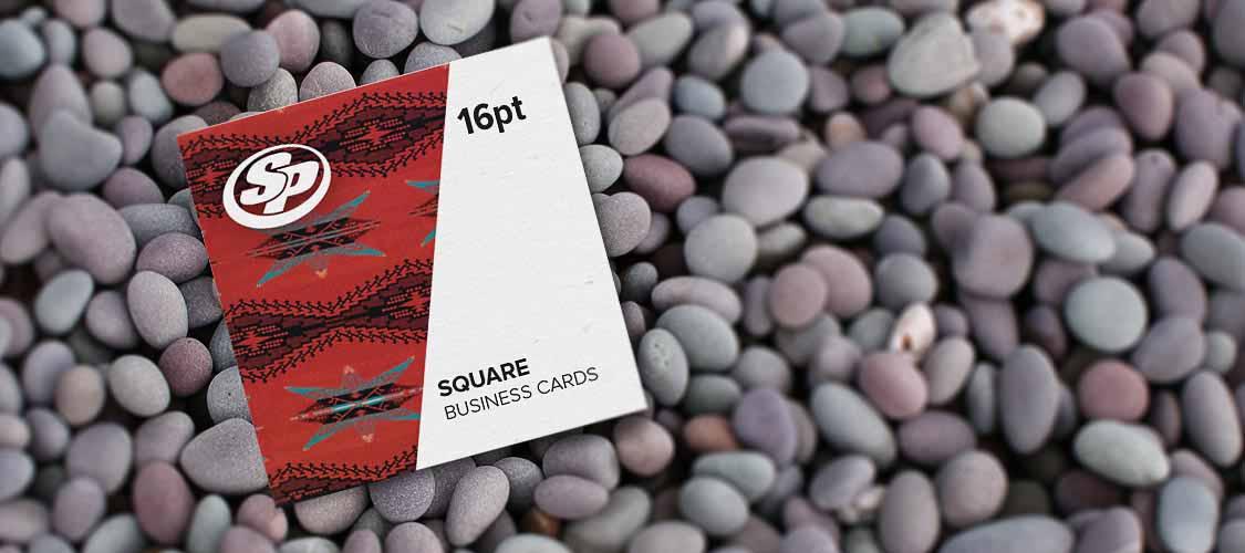Square Business Cards | Stigler Printing