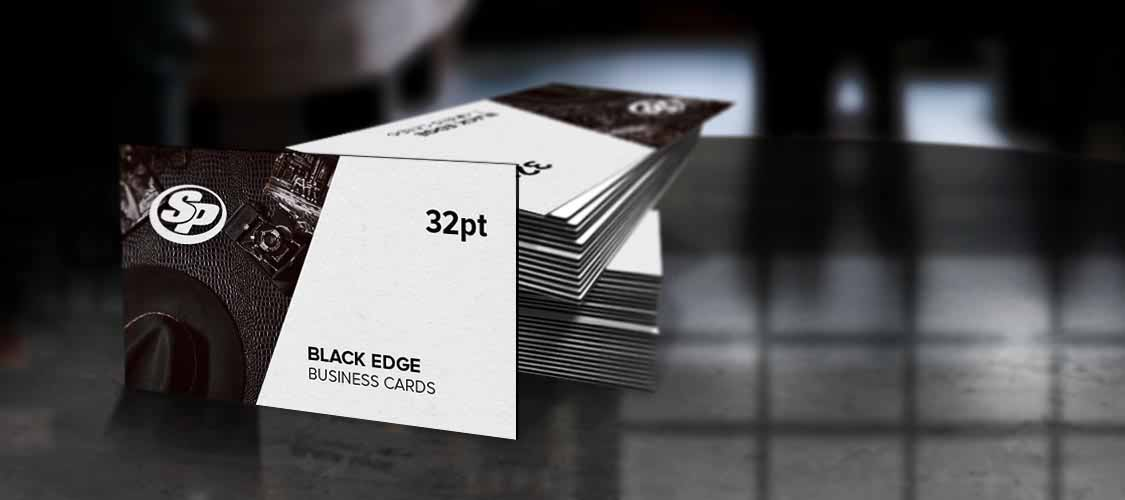 Painted edge business cards stigler printing colourmoves