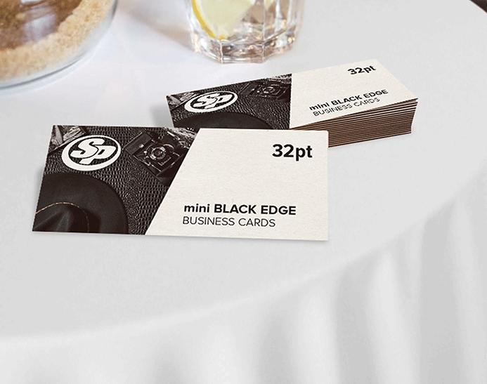 Mini painted edge business cards stigler printing mini painted edge business cardsbusiness cards reheart Choice Image
